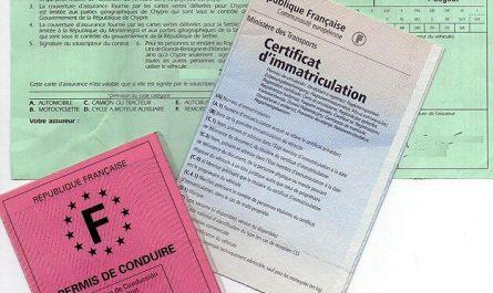 Certificat d'immatriculation en ligne