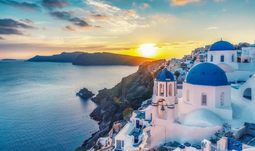 Pourquoi choisir de se marier à Santorin
